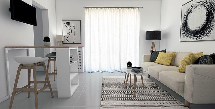 Come arredare un soggiorno piccolo 30 idee originali for Soluzioni soggiorno