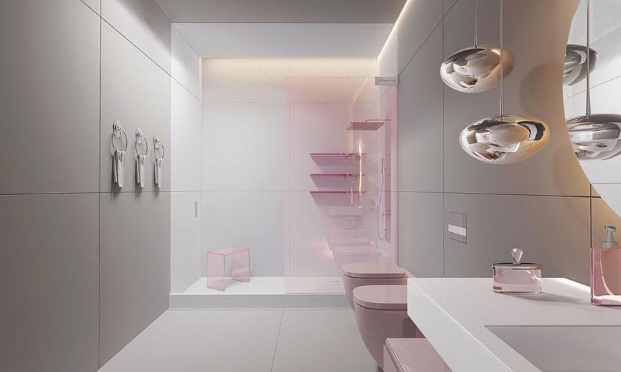 Bagno moderno 60 idee di arredo originali - Idee arredo bagno moderno ...