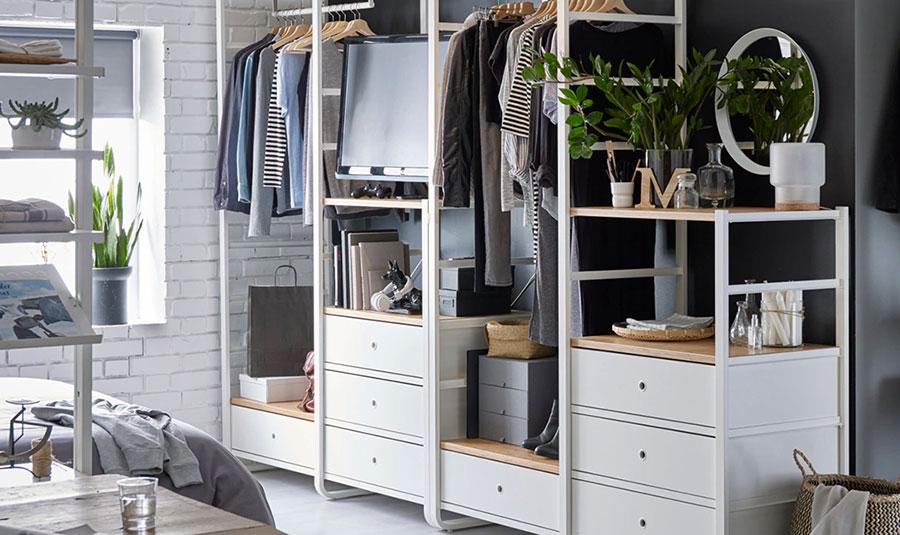 Struttura componibili Ikea per cabina armadio n.02