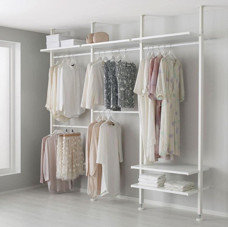 Struttura componibili Ikea per cabina armadio n.04