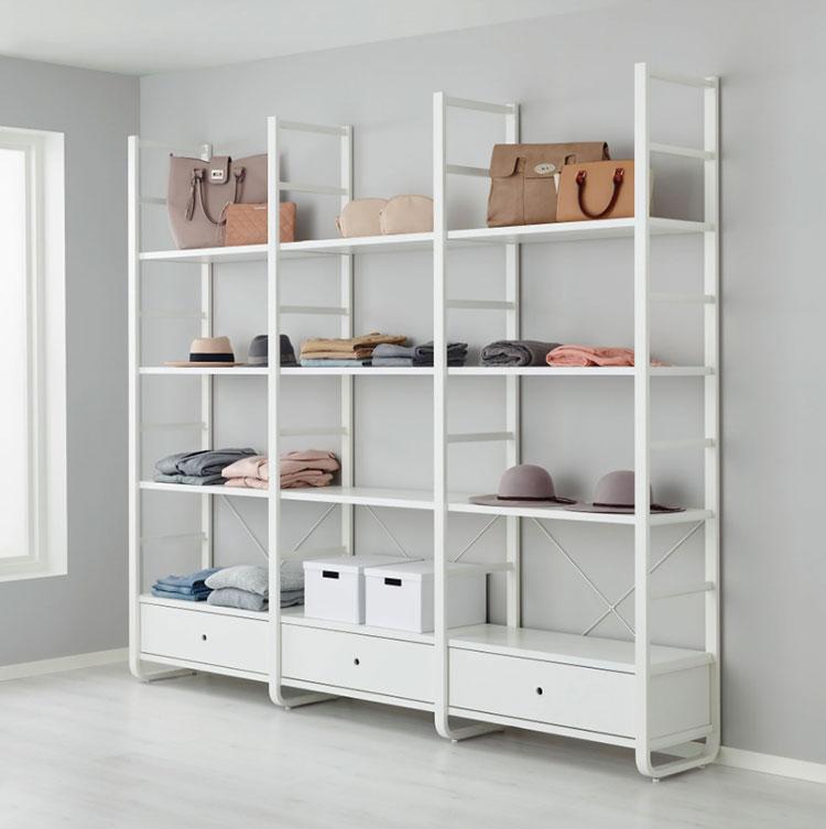 Struttura componibili Ikea per cabina armadio n.06