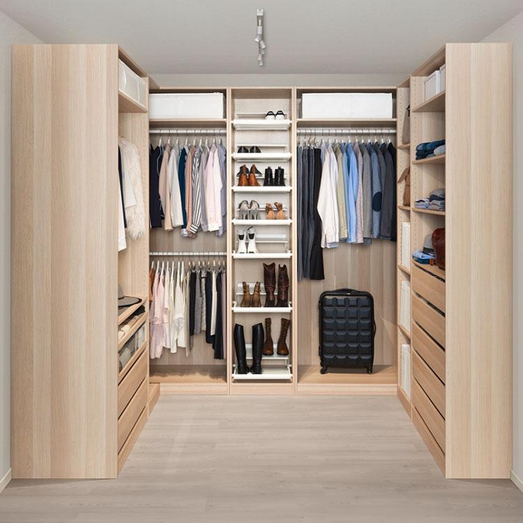 cabina armadio fai da te idee semplici ed economiche On cabina armadio fai da te ikea