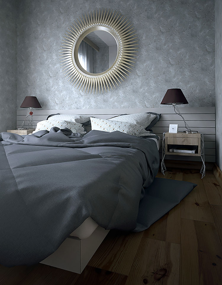 Come arredare una camera da letto piccola n.05