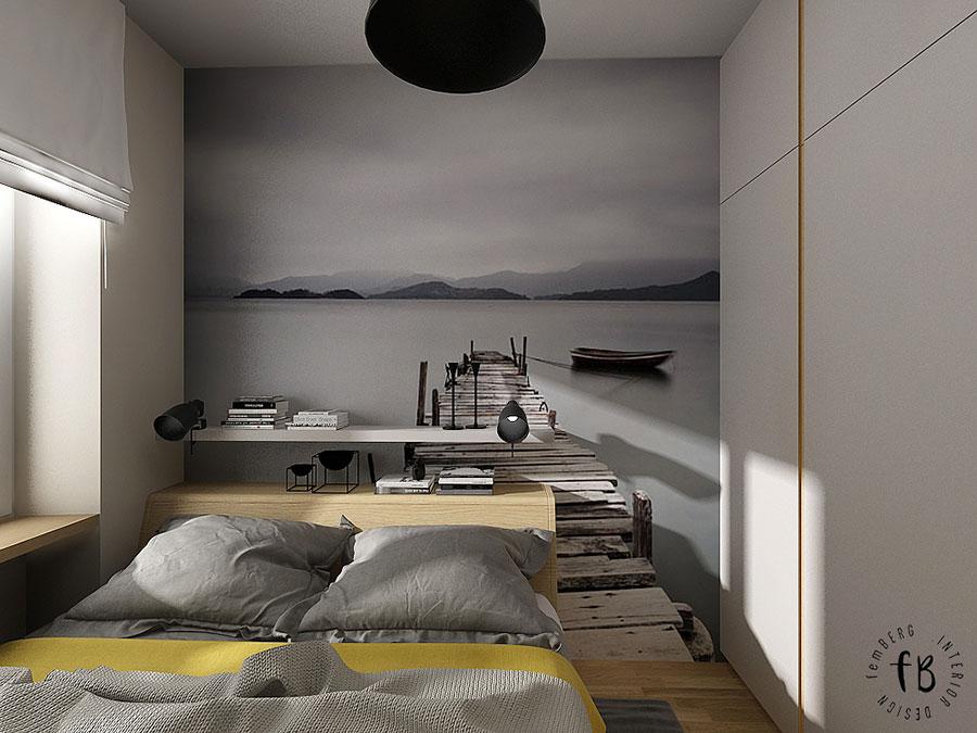 Come arredare una camera da letto piccola n.13