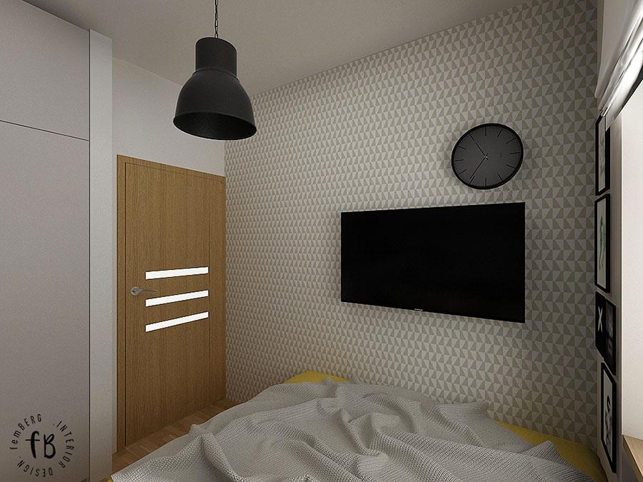 Come arredare una camera da letto piccola n.14