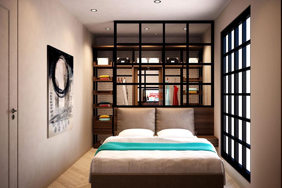 Camera da letto piccola 30 idee di arredamento semplici e originali - Camera da letto piccola soluzioni ...