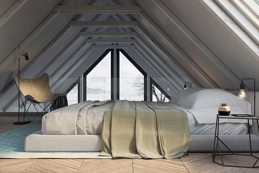 Come arredare una camera da letto piccola n.27
