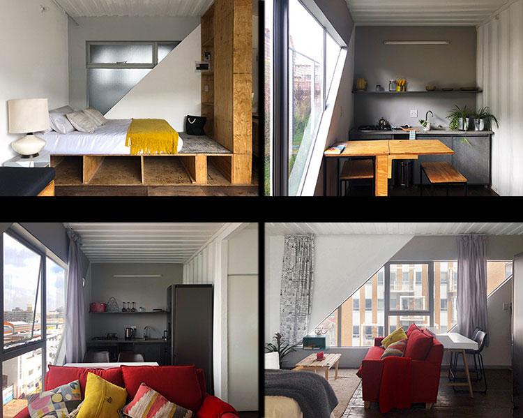 Foto del condominio costruito con container n.13