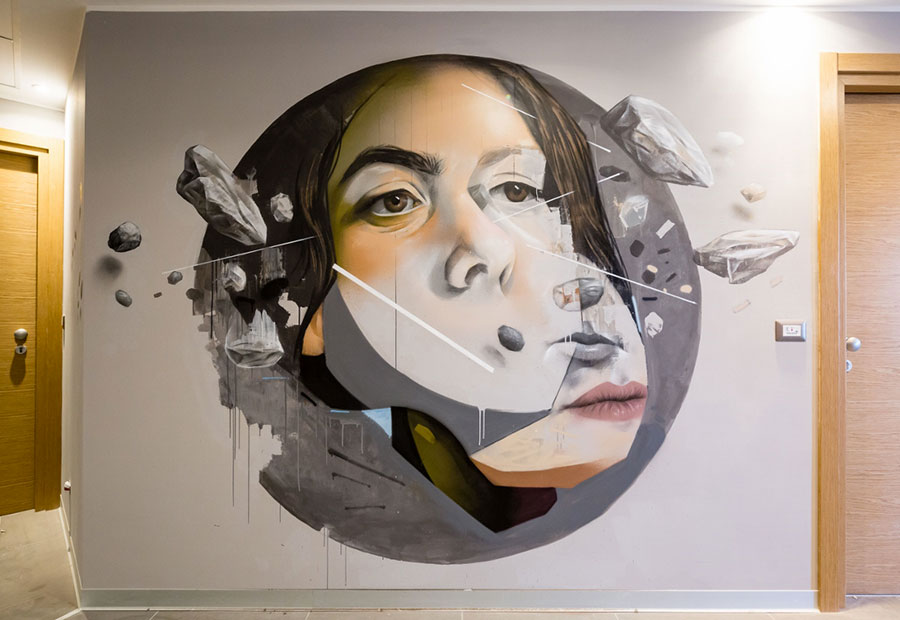 NYX Hotel street art n.10