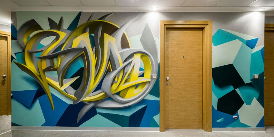 NYX Hotel street art n.11