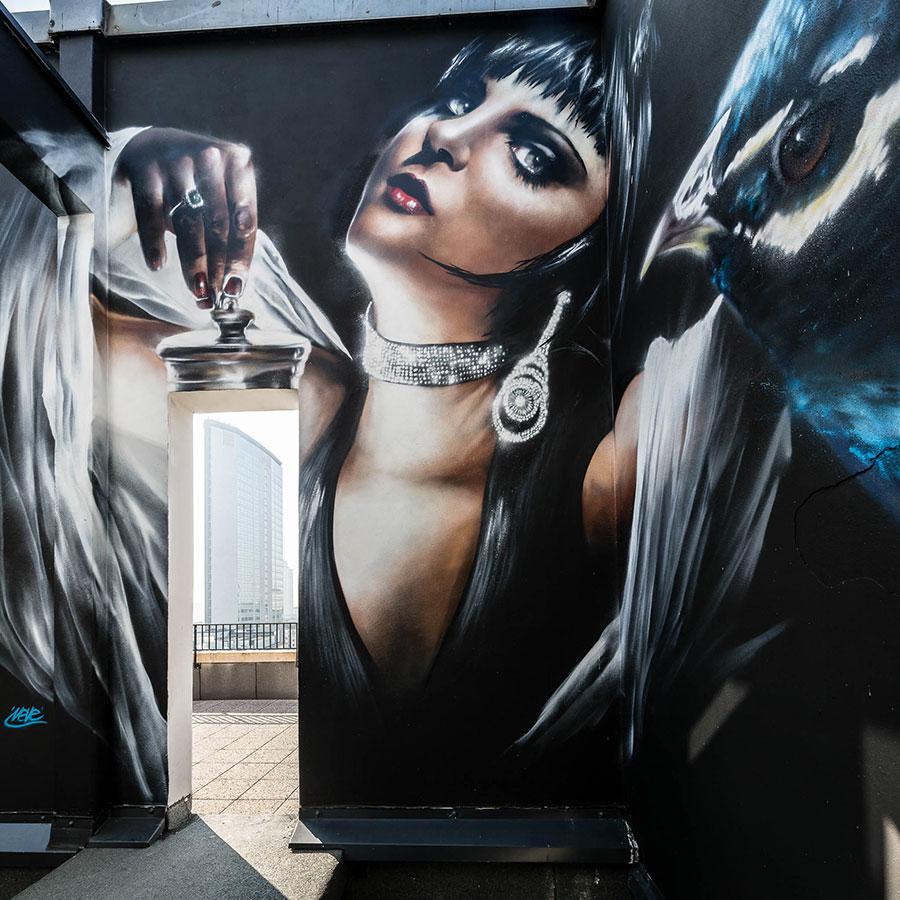 NYX Hotel street art n.13
