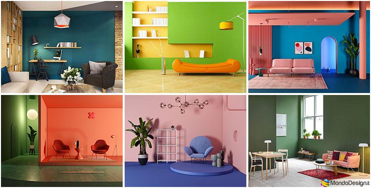 Come abbinare i colori delle pareti del soggiorno