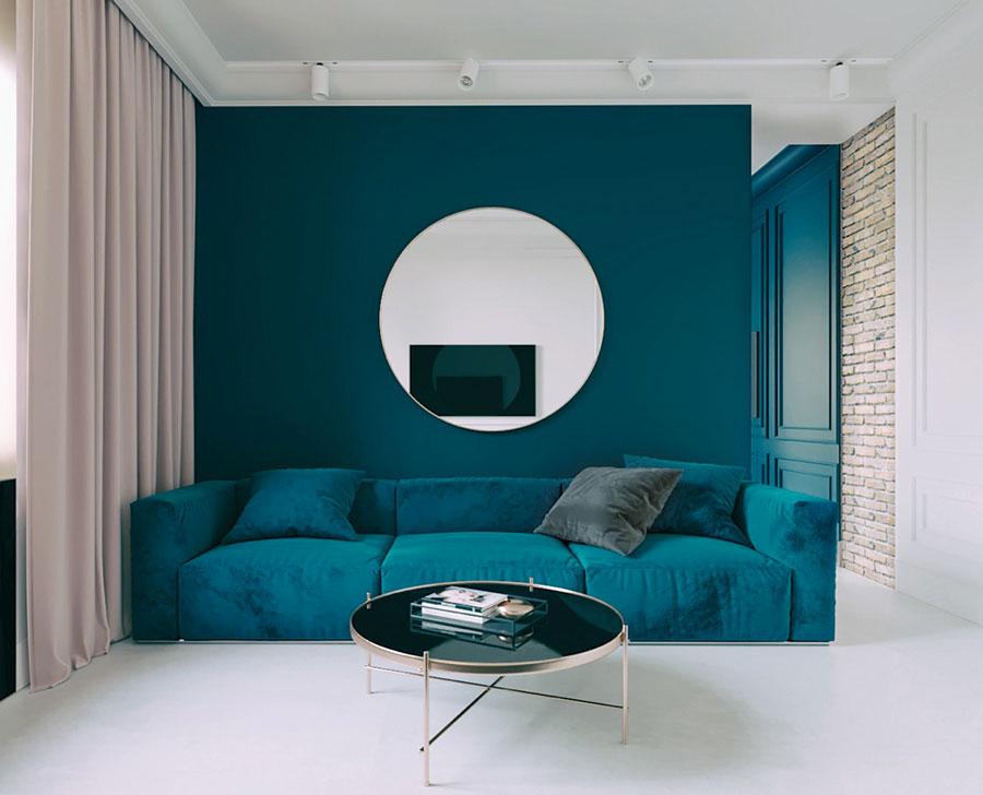 Pareti colorate di blu n.03