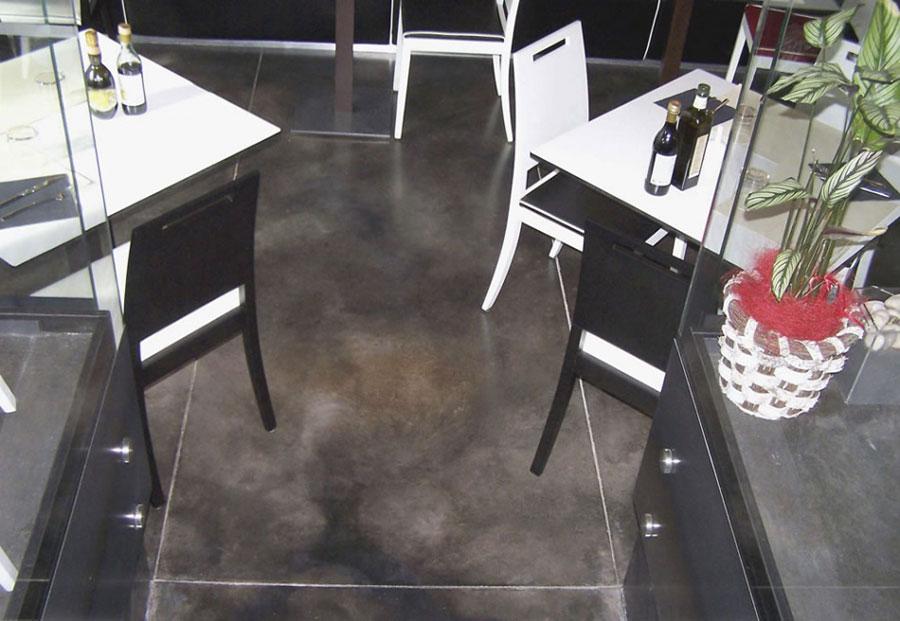 Modello di pavimento in cemento acidificato n.01