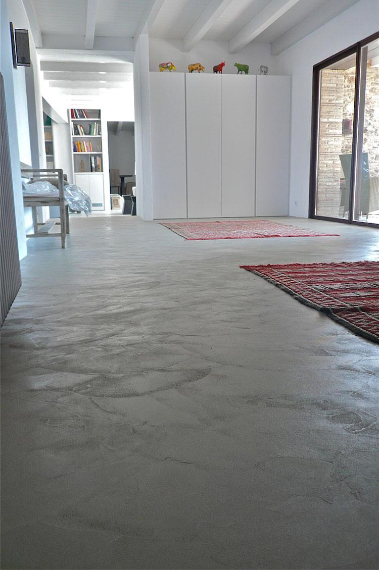 Modello di pavimento in cemento industriale n.14