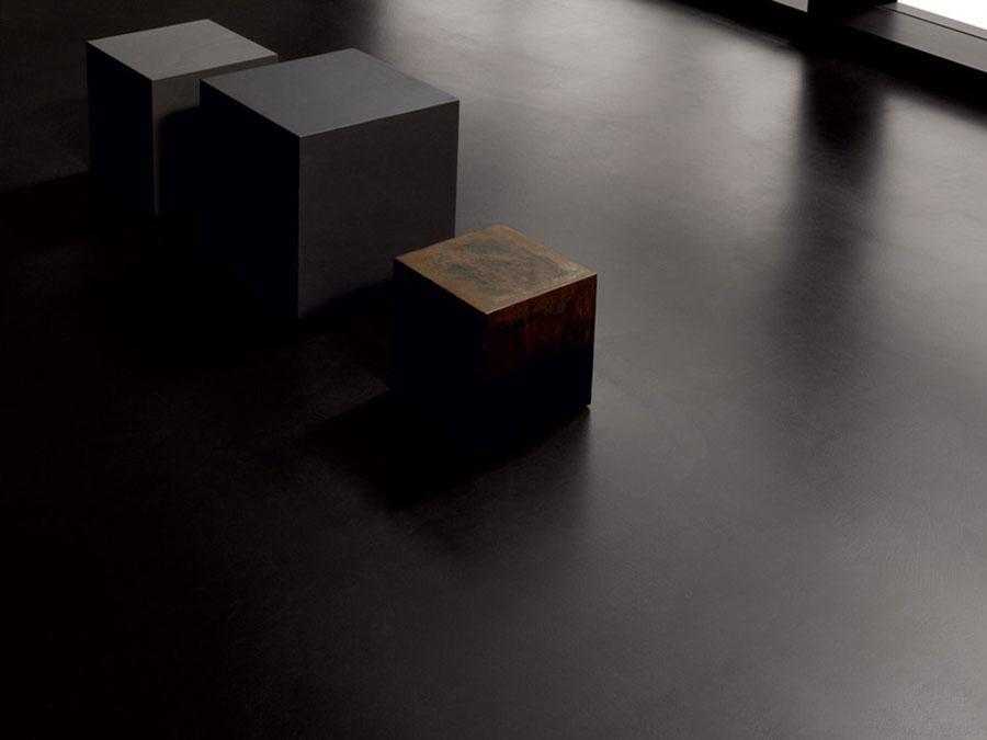 Modello di pavimento in cemento spatolato n.04