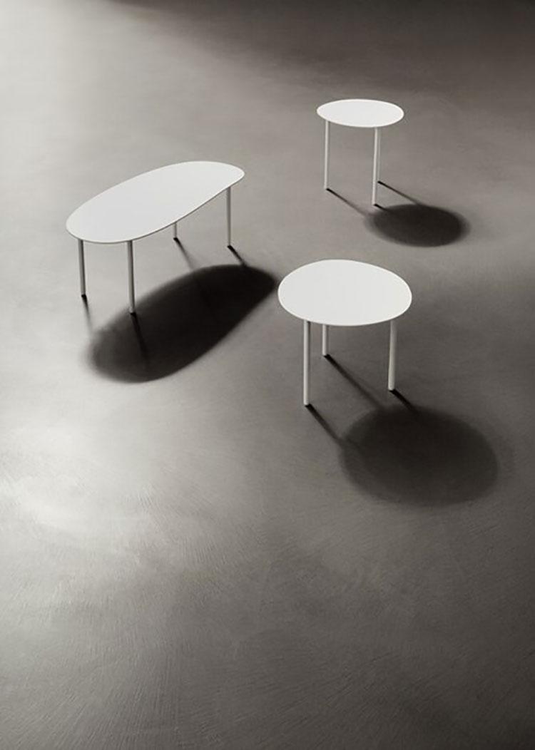Modello di pavimento in cemento spatolato n.05