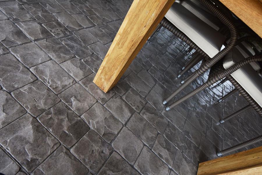 Modello di pavimento in cemento stampato n.03