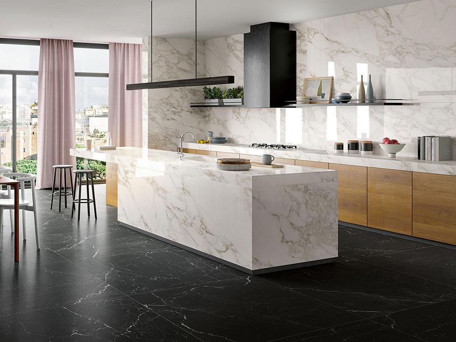 Modello di pavimento in gres effetto marmo n.01