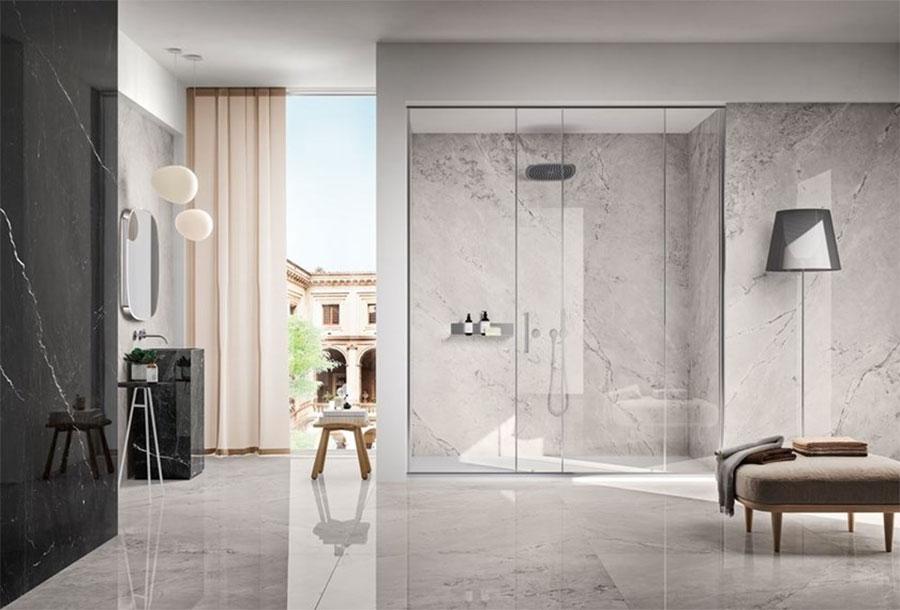 Modello di pavimento in gres effetto marmo n.03