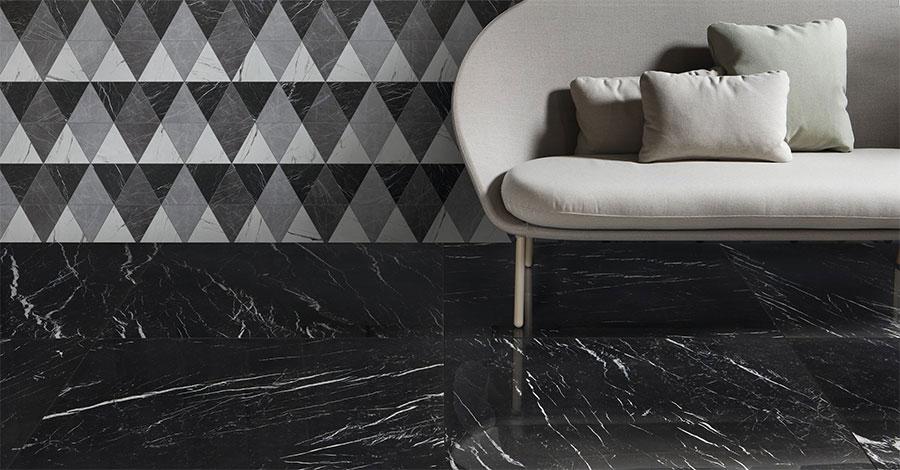 Modello di pavimento in gres effetto marmo n.05