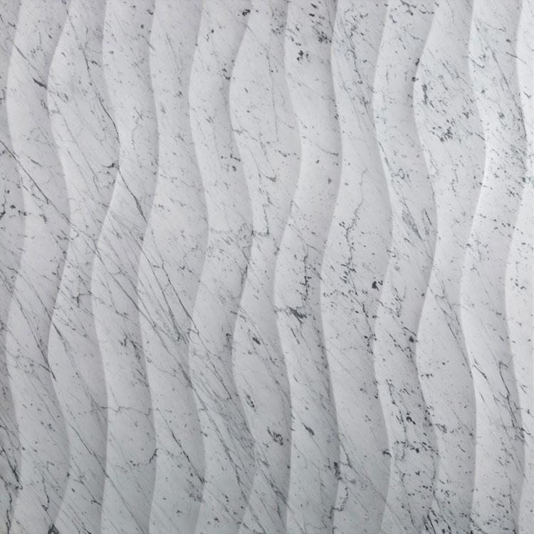 Modello di pavimento in marmo bianco n.03