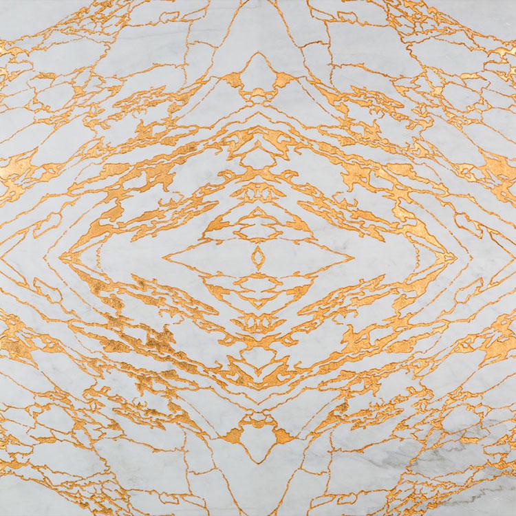 Modello di pavimento in marmo decorato n.02