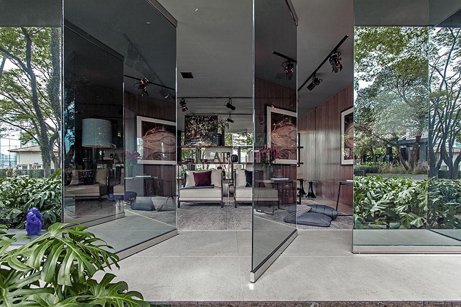 Modello di pavimento in marmo grigio n.01