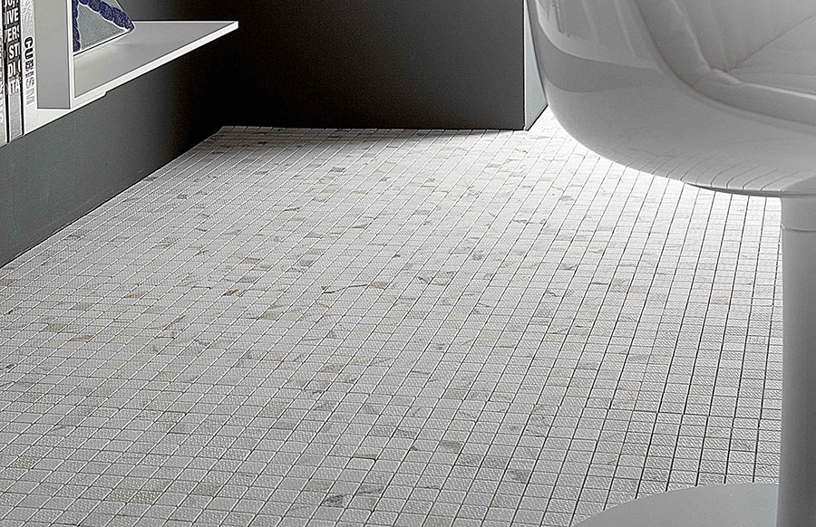 Modello di pavimento in marmo a mosaico n.04