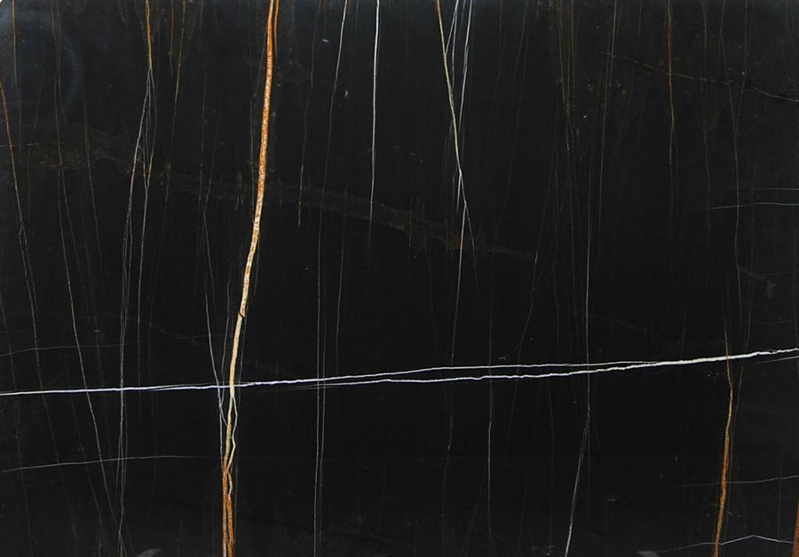 Modello di pavimento in marmo nero n.04