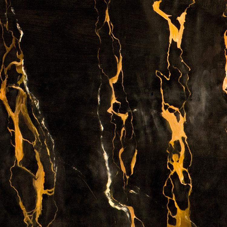 Modello di pavimento in marmo nero n.05