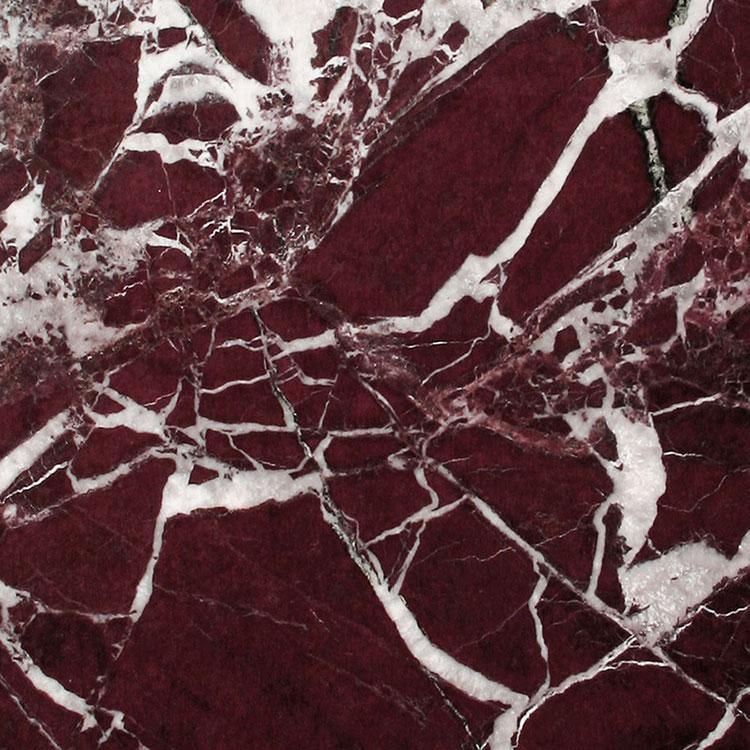 Modello di pavimento in marmo rosso n.04