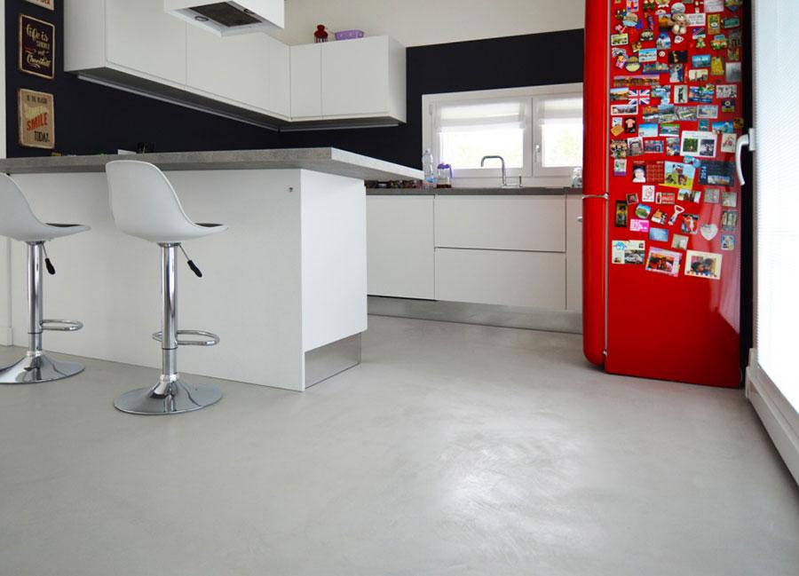 Modello di pavimento in microcemento n.12