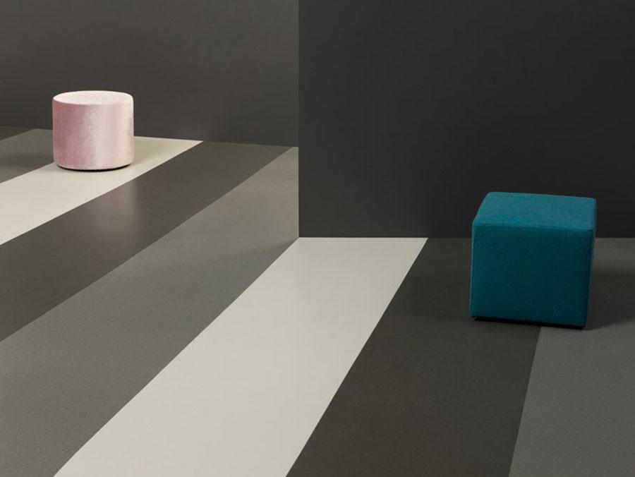 Pavimento in vinile effetto tridimensionale n.01