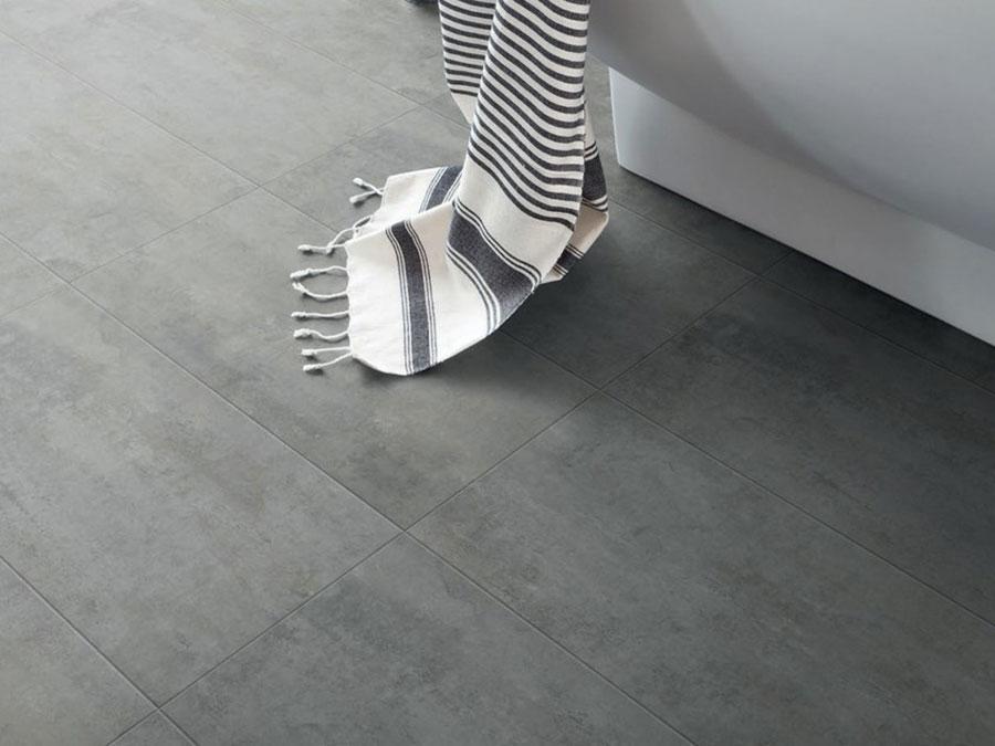 Pavimento in vinile effetto cemento n.03