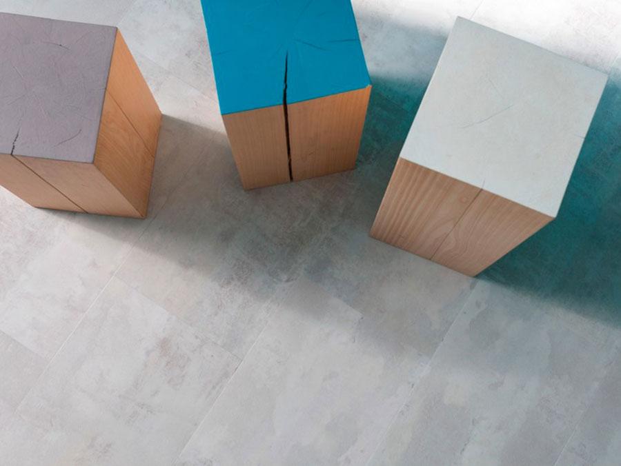 Pavimento in vinile effetto cemento n.04