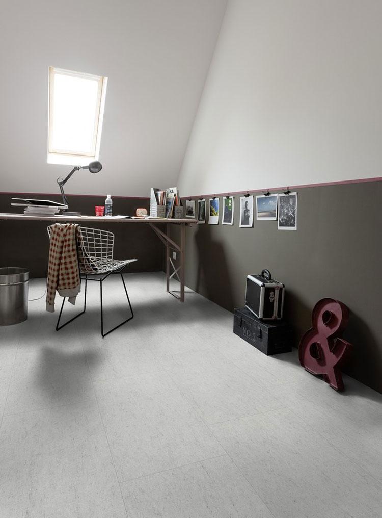 Pavimento in vinile effetto cemento n.05