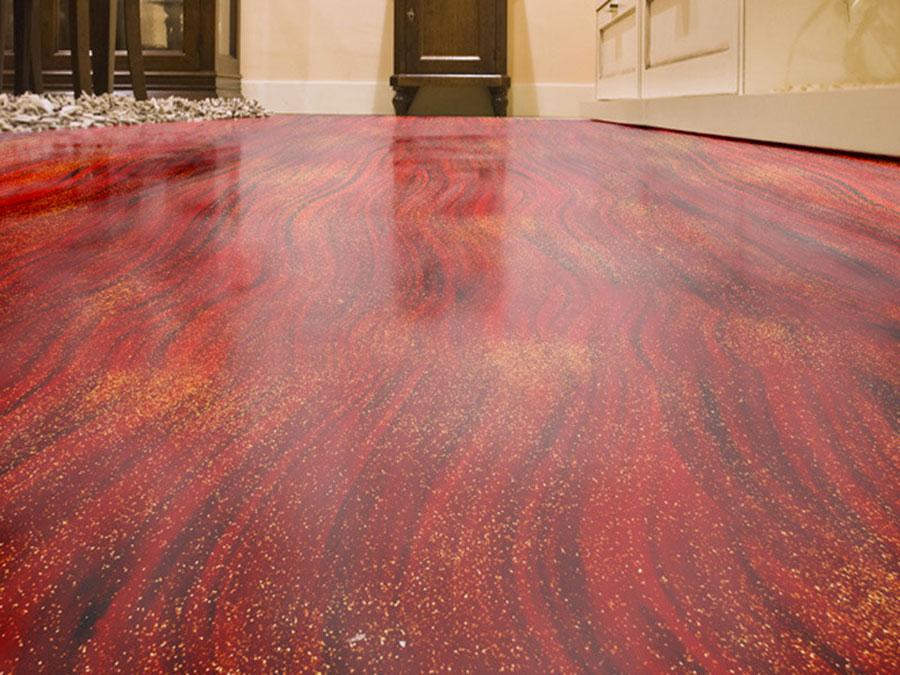 Tipo di pavimento in resina di Atria n.02