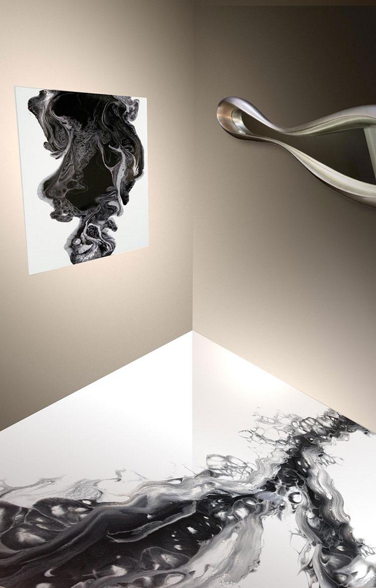 Pavimento 3D decorativo n.22