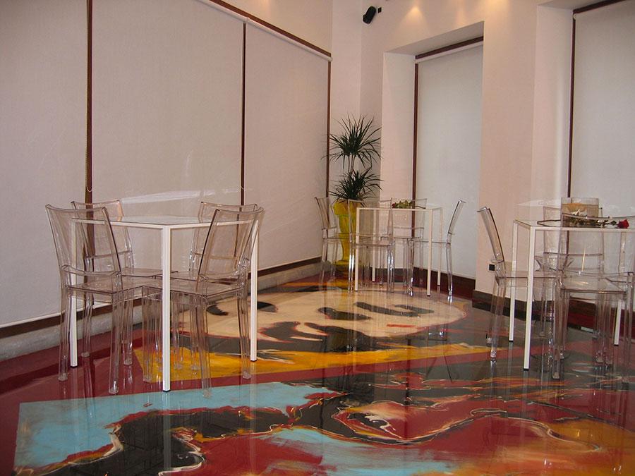 Tipo di pavimento in resina di Colledani n.03