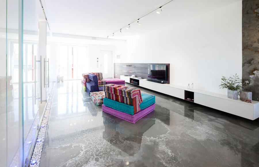 Tipo di pavimento in resina di Gobbetto n.01