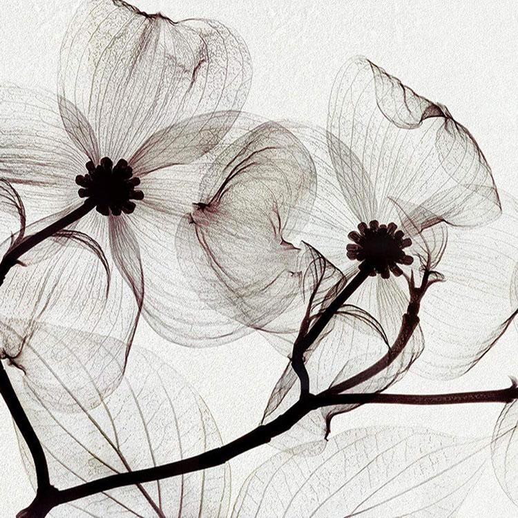 Modello di carta da parati floreale in stile moderno n.06