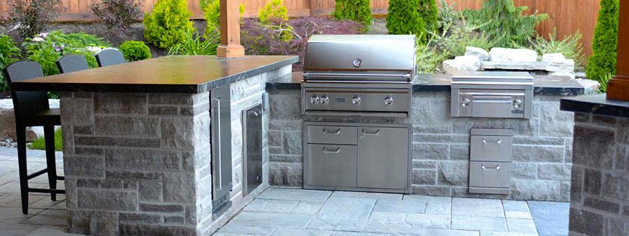 Foto di cucina in muratura da esterno n.02