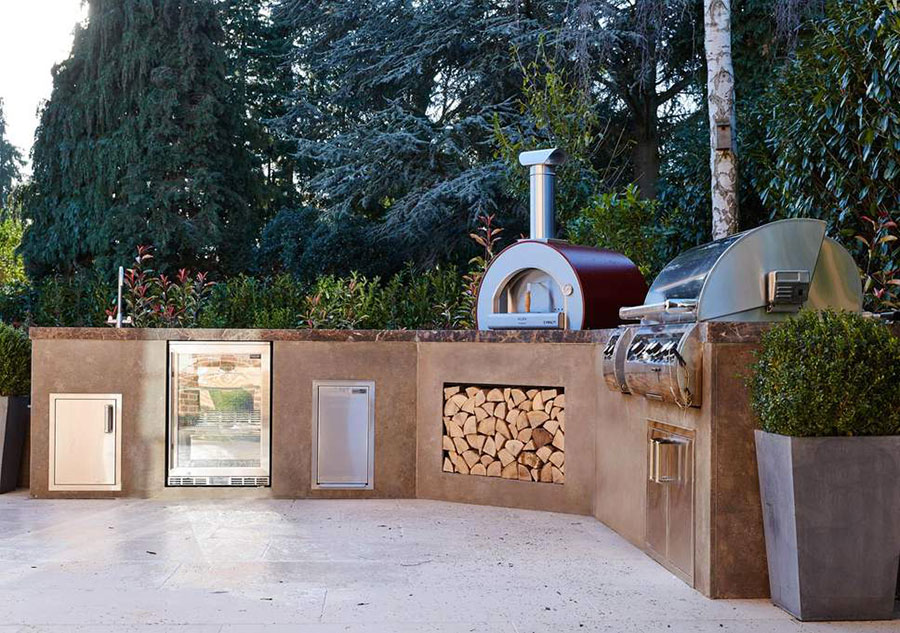 Foto di cucina in muratura da esterno n.20
