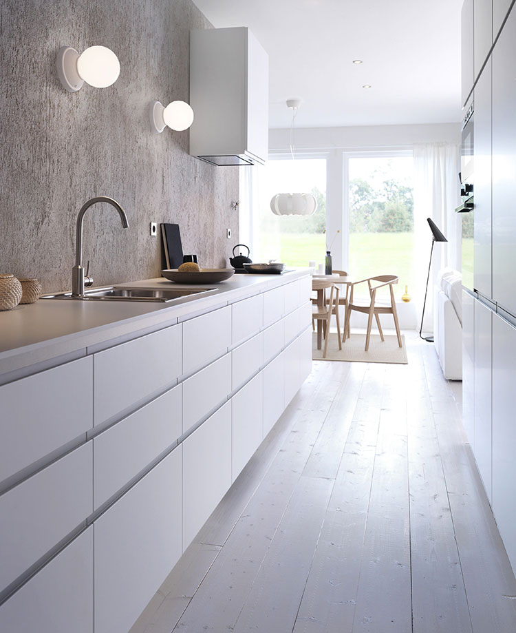 Ikea Kitchen Ads: Cucina Stretta E Lunga: 20 Pratiche Idee Di Arredamento