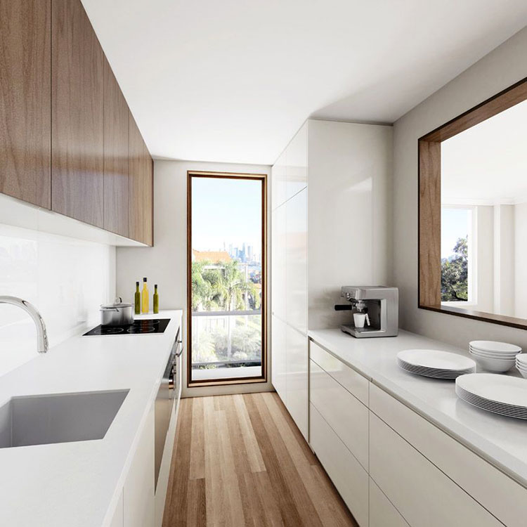 Cucina Stretta E Lunga 20 Pratiche Idee Di Arredamento Mondodesign It
