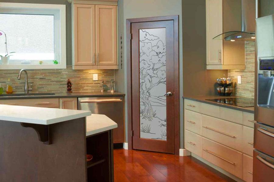 Dove collocare la porta in una cucina Feng Shui 3