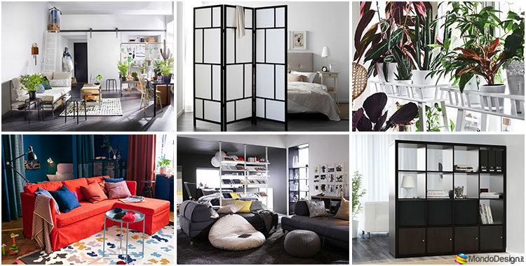 Porta Tv Originali Ikea.Pareti Divisorie Ikea 20 Idee E Soluzioni Originali