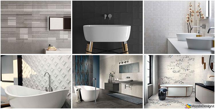 Rivestimenti per bagno moderno 40 idee dal design sorprendente - Rivestimenti bagno design ...