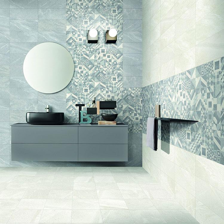 Piastrelle per bagno moderno di Mariner n.05